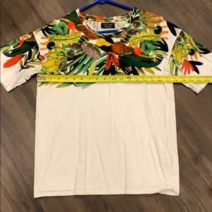 Men's Zara tropical t-shirt